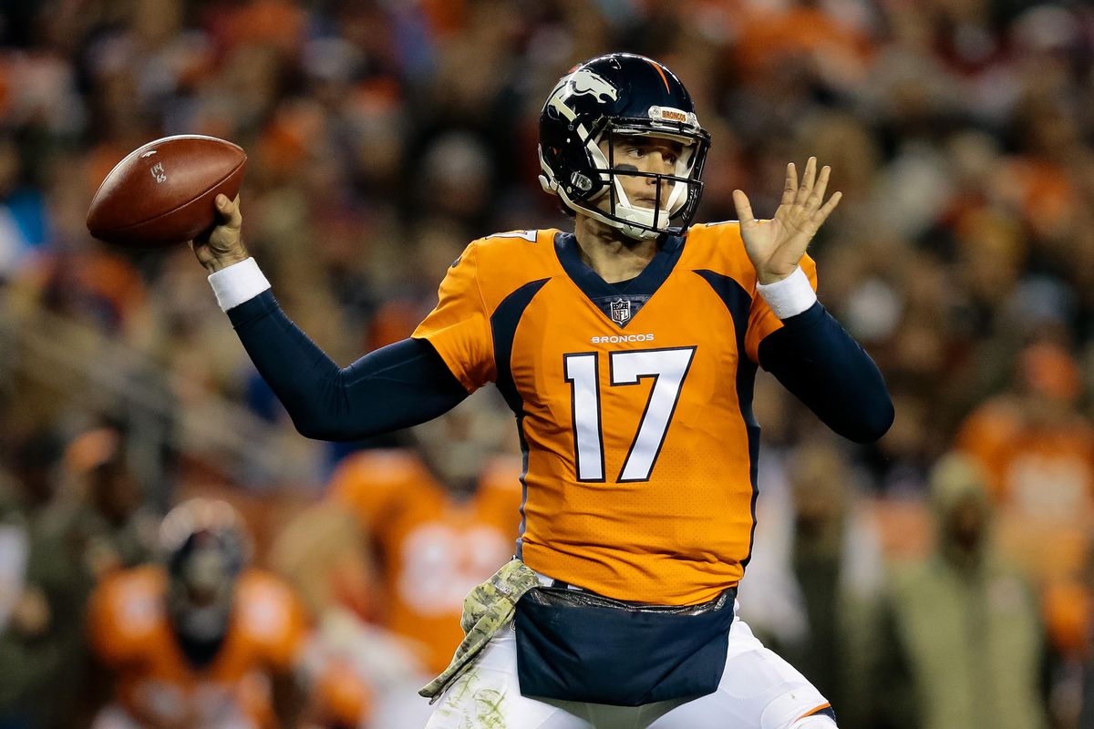 Brock Osweiler will start at quarterback for the Broncos in week ...