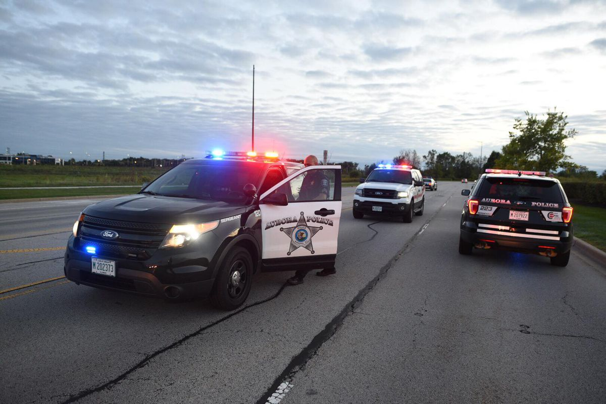 One person was killed and two others were seriously injured in a rollover crash Nov. 23, 2019, in west suburban Aurora.