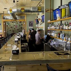 The Refinery's bar.