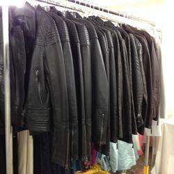 Leather motorcycle jackets, $875 (originally $3,500)