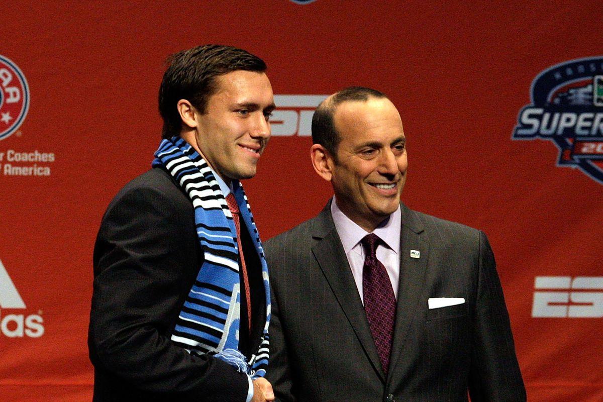 2012 MLS SuperDraft Presented By Adidas
