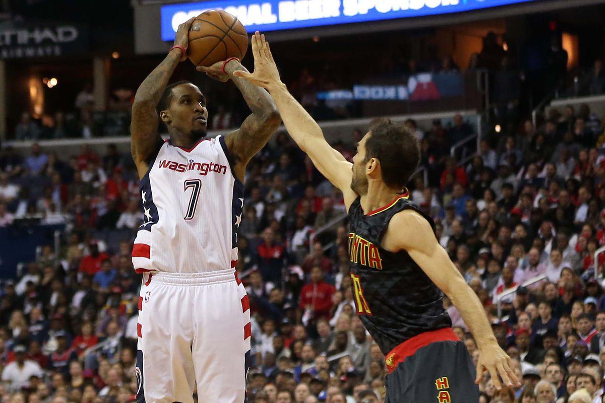 NBA: Playoffs-Atlanta Hawks at Washington Wizards