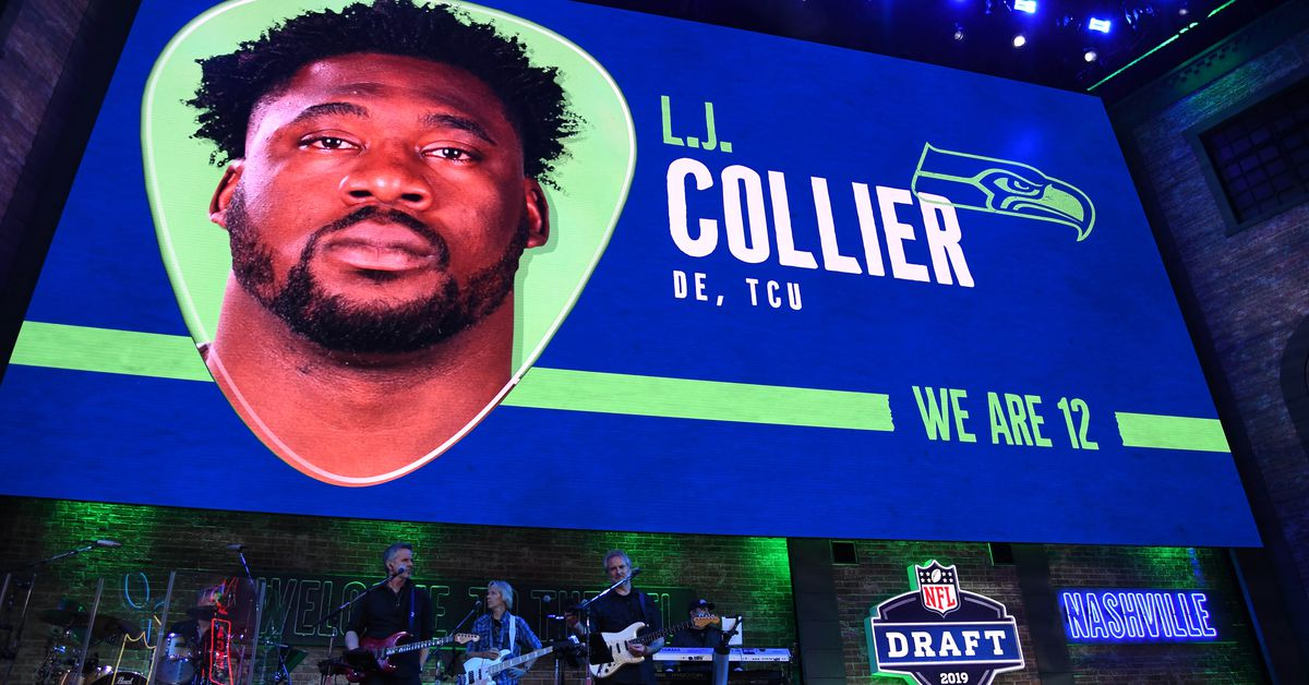 save off e202a 9ab2b Grading the Seattle Seahawks 2019 NFL Draft on process, not results - Field  Gulls