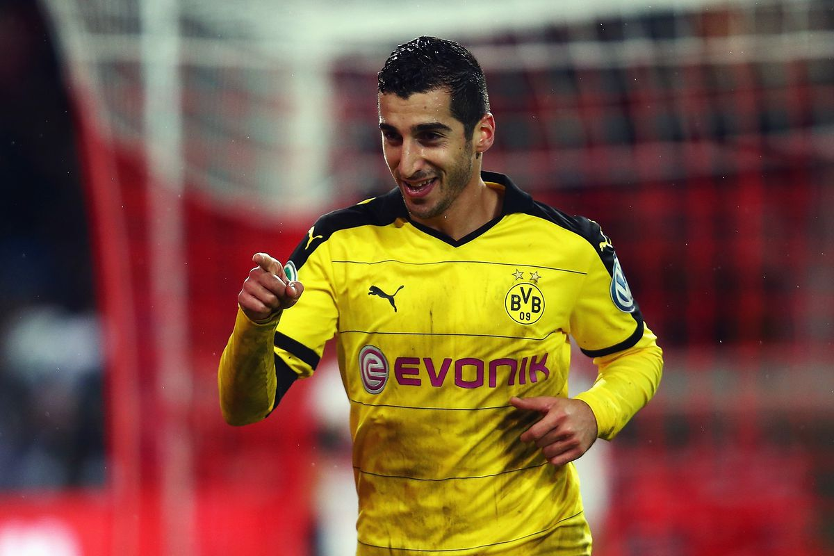 Could Mkhitaryan be our replacement for Gündoğan?