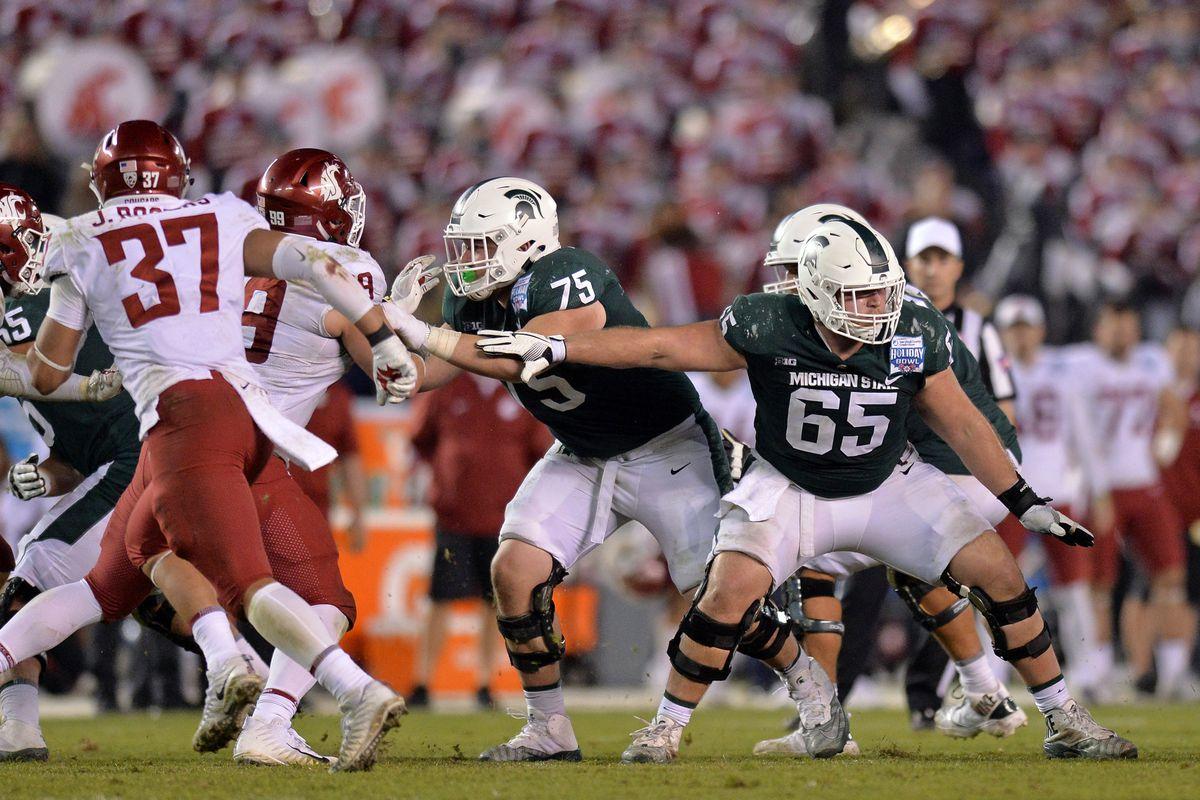 NCAA Football: Holiday Bowl-Washington State vs Michigan State