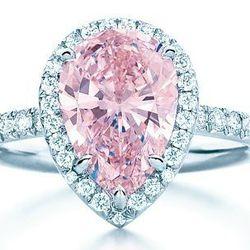 Tiffany's Fancy Intense Pink Diamond Ring: $1,200,000