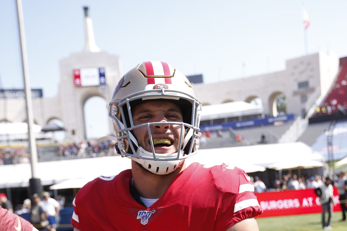 NFL Gambling: 49ers are favored by Washington by 9.5 points