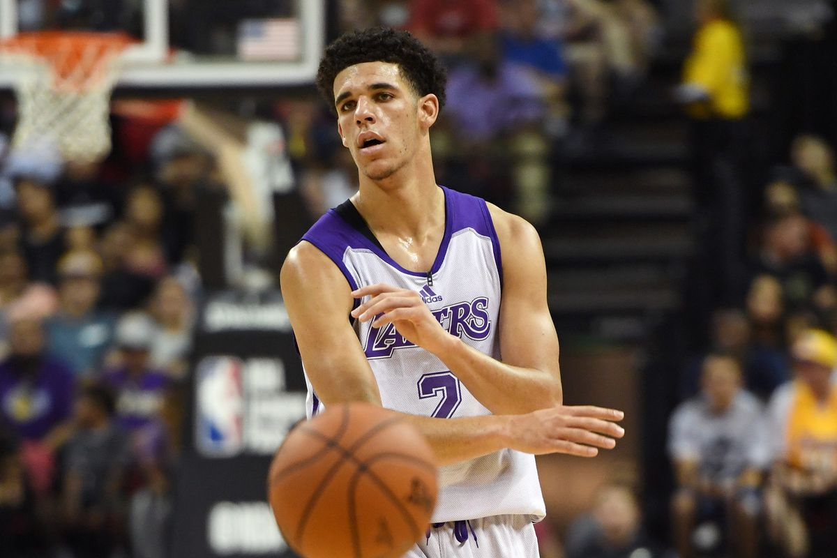 c65b09ff4 Las Vegas Summer League  Lonzo Ball s pass-first mentality has become  infectious on the Lakers