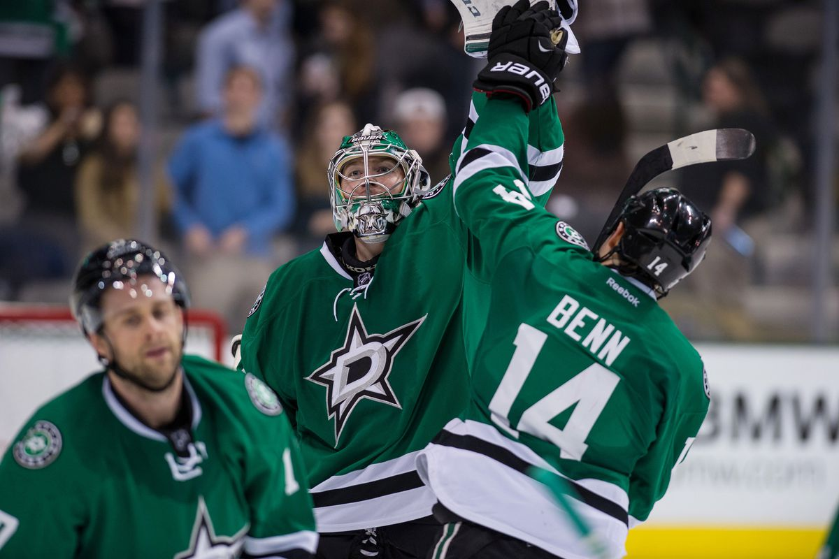Will both Kari Lehtonen and Jamie Benn have something to celebrate once all the rosters are announced?