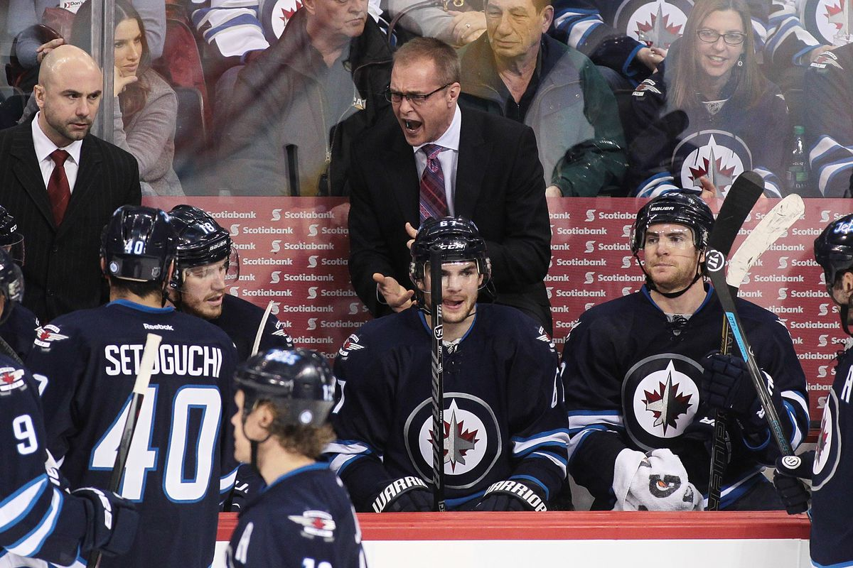 Paul Maurice has not been happy of late