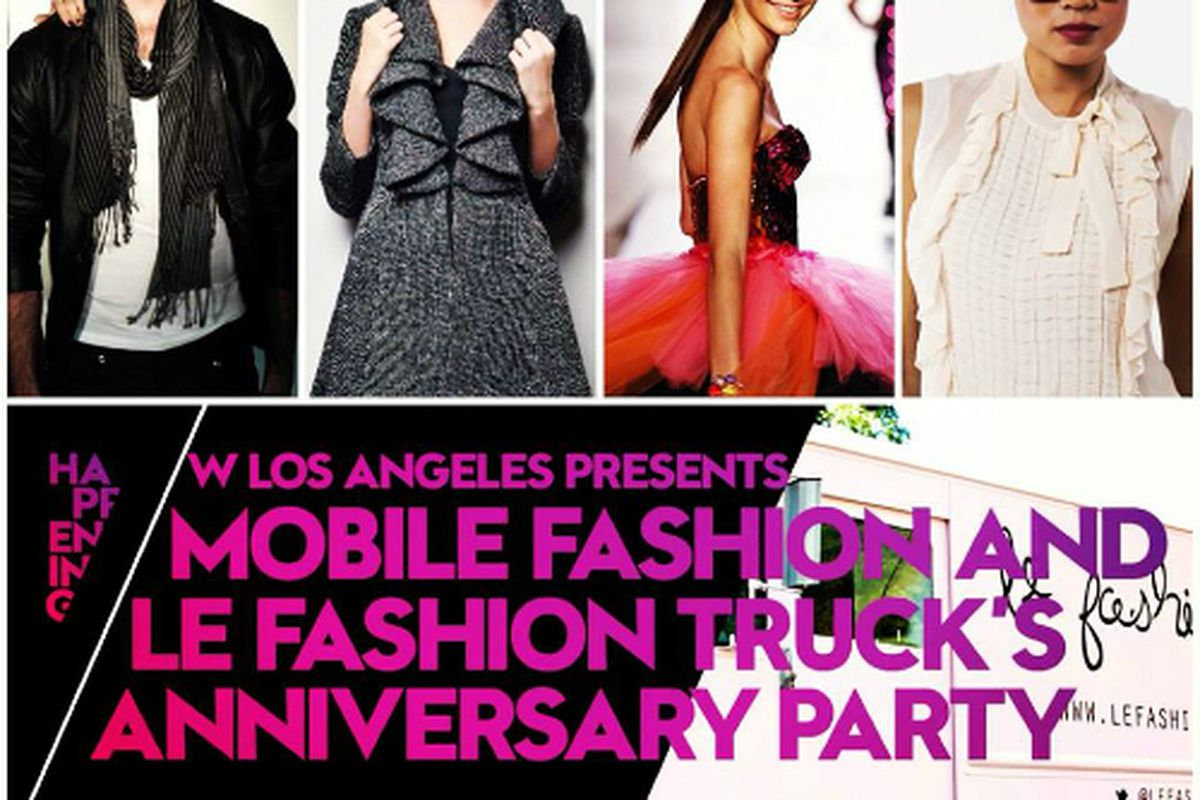"""Flyer via Le Fashion Truck/<a href=""""https://www.facebook.com/photo.php?fbid=631890836872702&amp;set=pcb.631891263539326&amp;type=1&amp;theater"""">Facebook</a>"""
