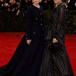 Best Olsens: Mary-Kate (Ferre) and Ashley Olsen (Chanel)