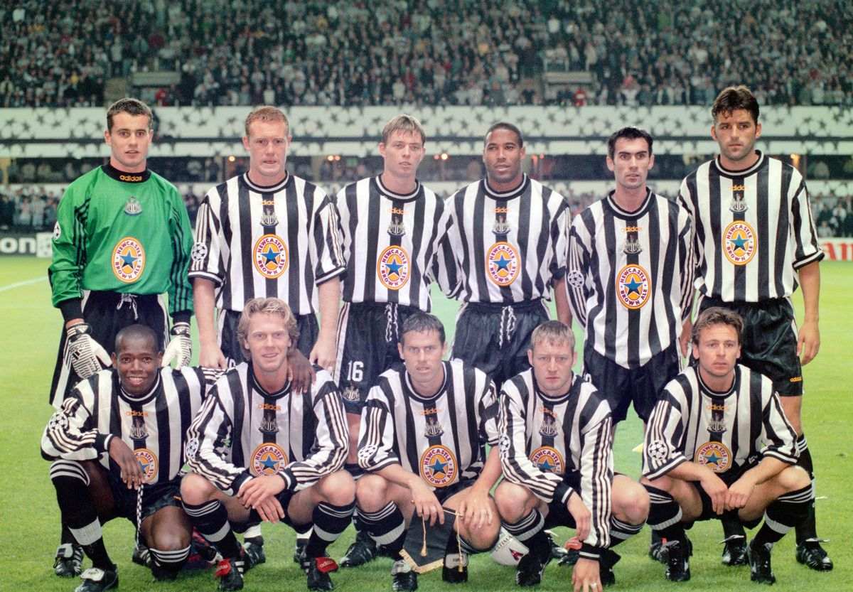 Newcastle United v Barcelona UEFA Champions League 1997