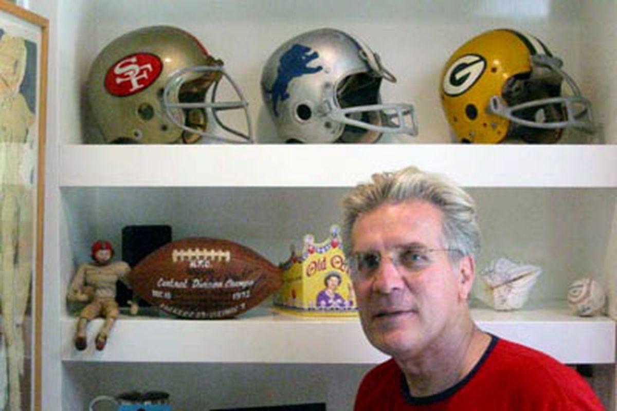 Dave Kopay at his L.A. home