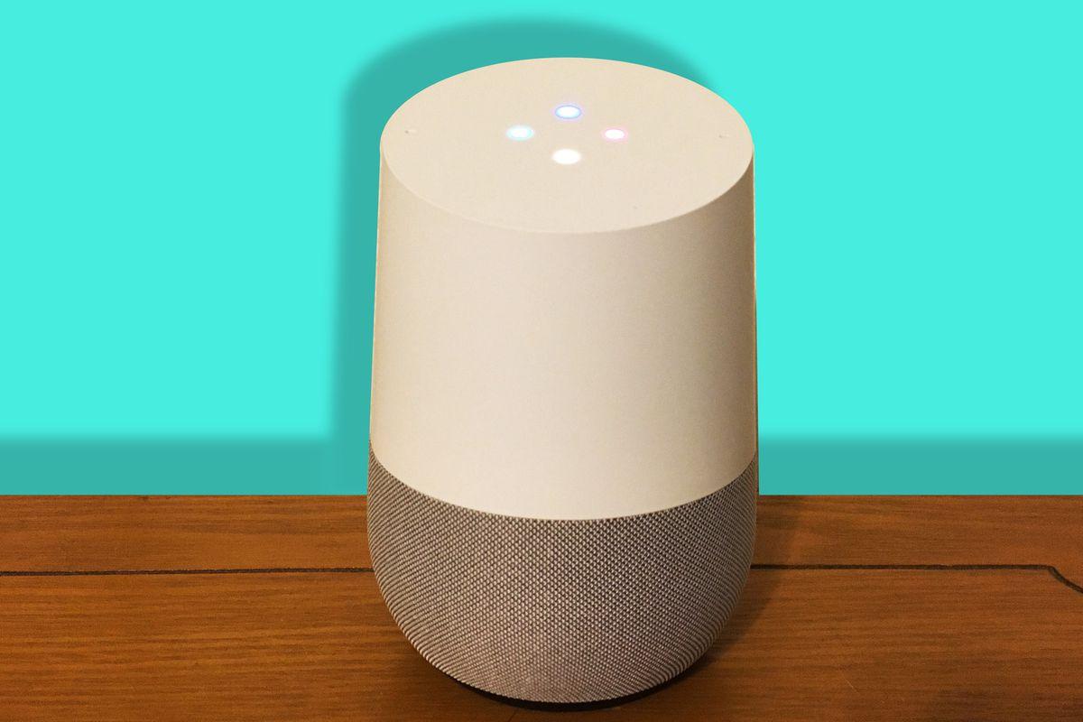 Google Home/Ringer illustration