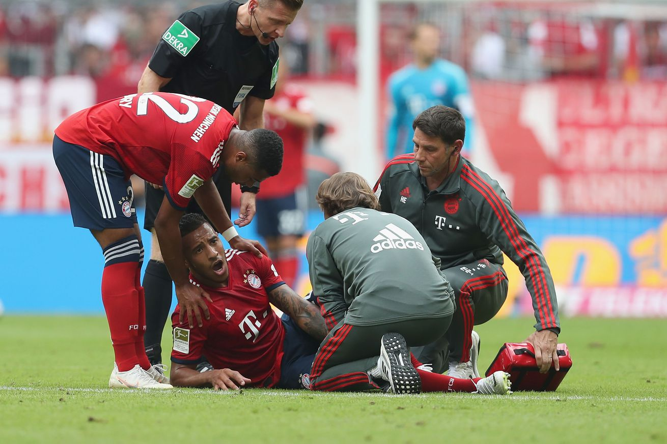 Corentin Tolisso tears ACL, Rafinha suffers ankle ligament damage