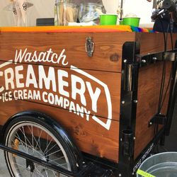 Wasatch Creamery ice cream is currently available at the Salt Lake Farmers Market.