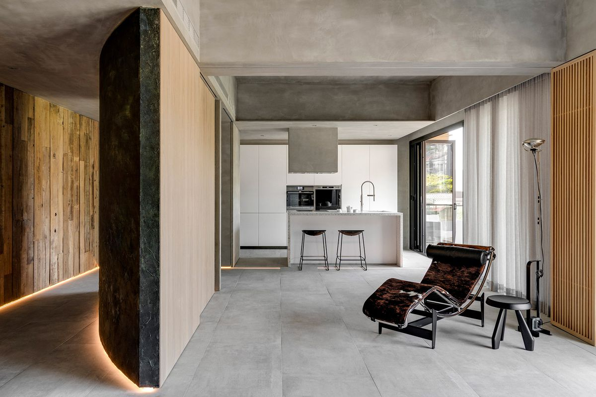 Minimalist Apartment Is Serene Retreat For Retired Couple Curbed