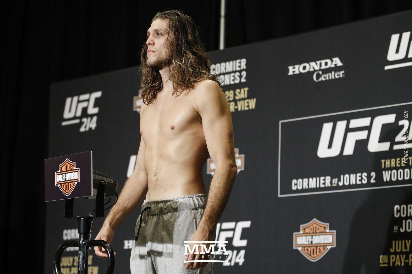 UFC 214 results: Brian Ortega submits Renato Moicano to end wild fight