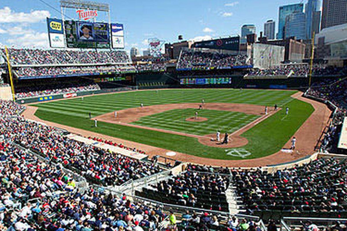 Target Field, Home of the Minnesota Twins.