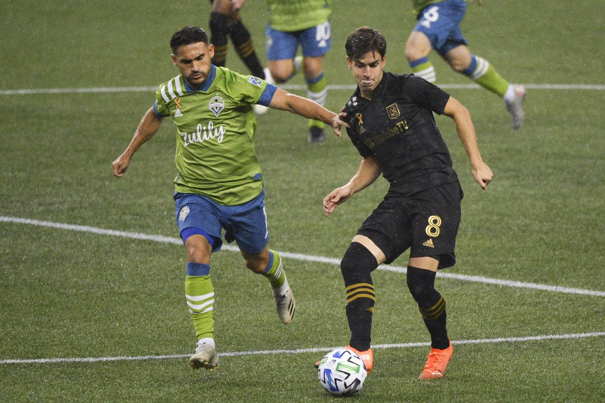 SOCCER: SEP 18 MLS - LAFC at Seattle Sounders FC