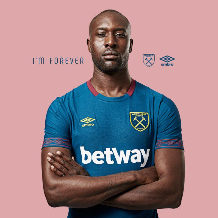 West Ham reveal new home and away kits and other kit news - Brace ... ab2f25e26