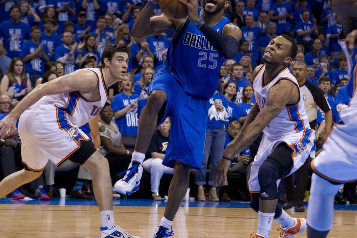 Hopefully the Thunder won't have to foul in order to stop plays like this tonight.