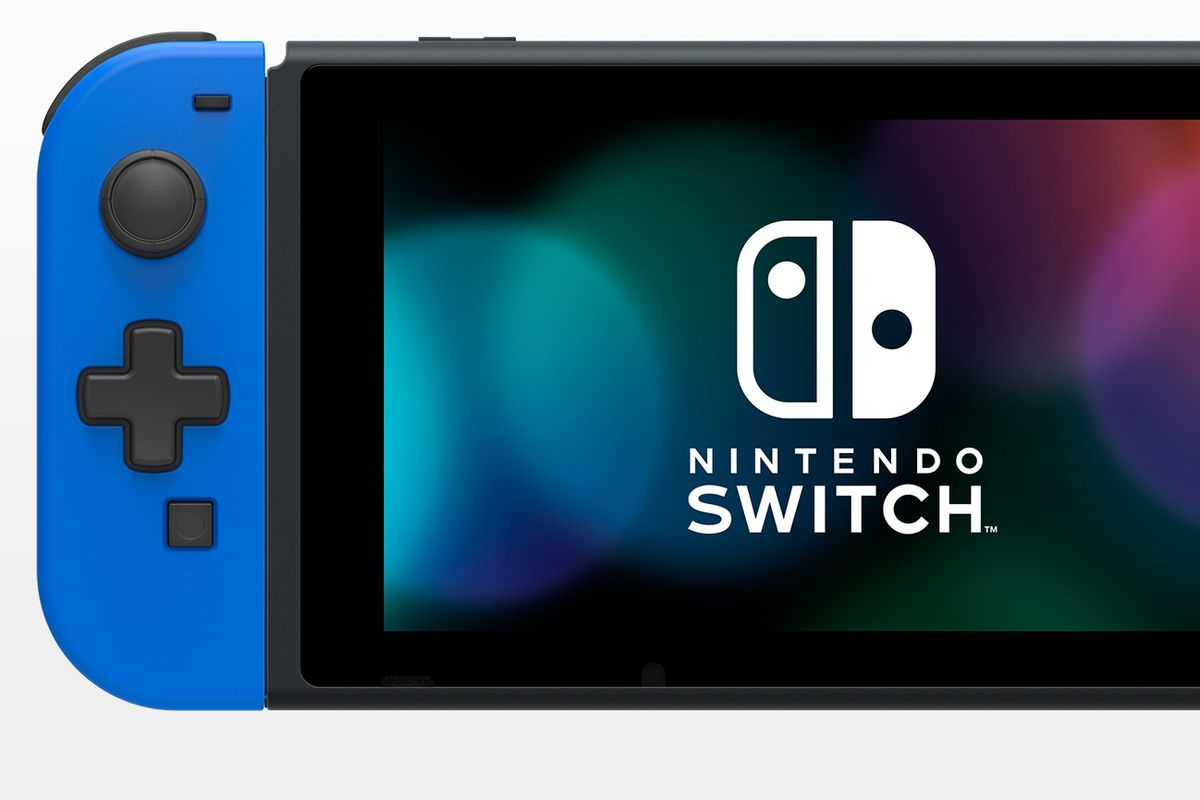Hori Joy-Con with d-pad for Switch out in July