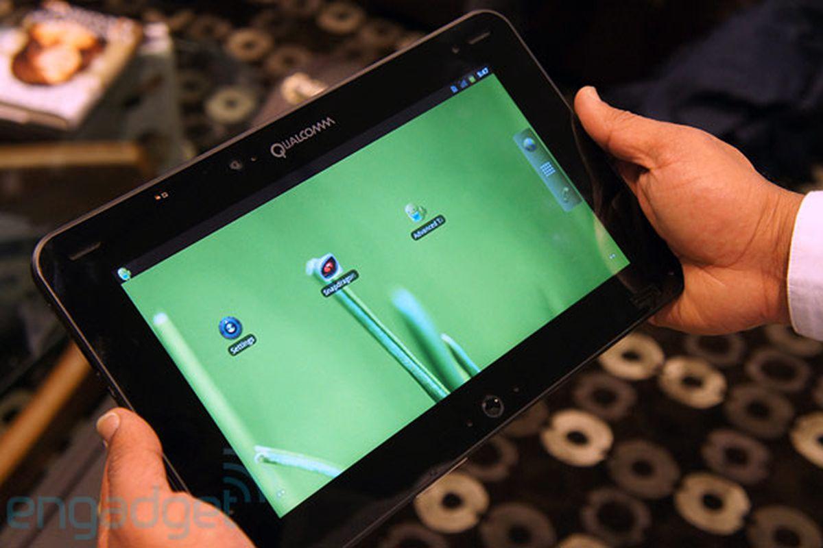 Qualcomm Liquid mobile development platform (engadget)
