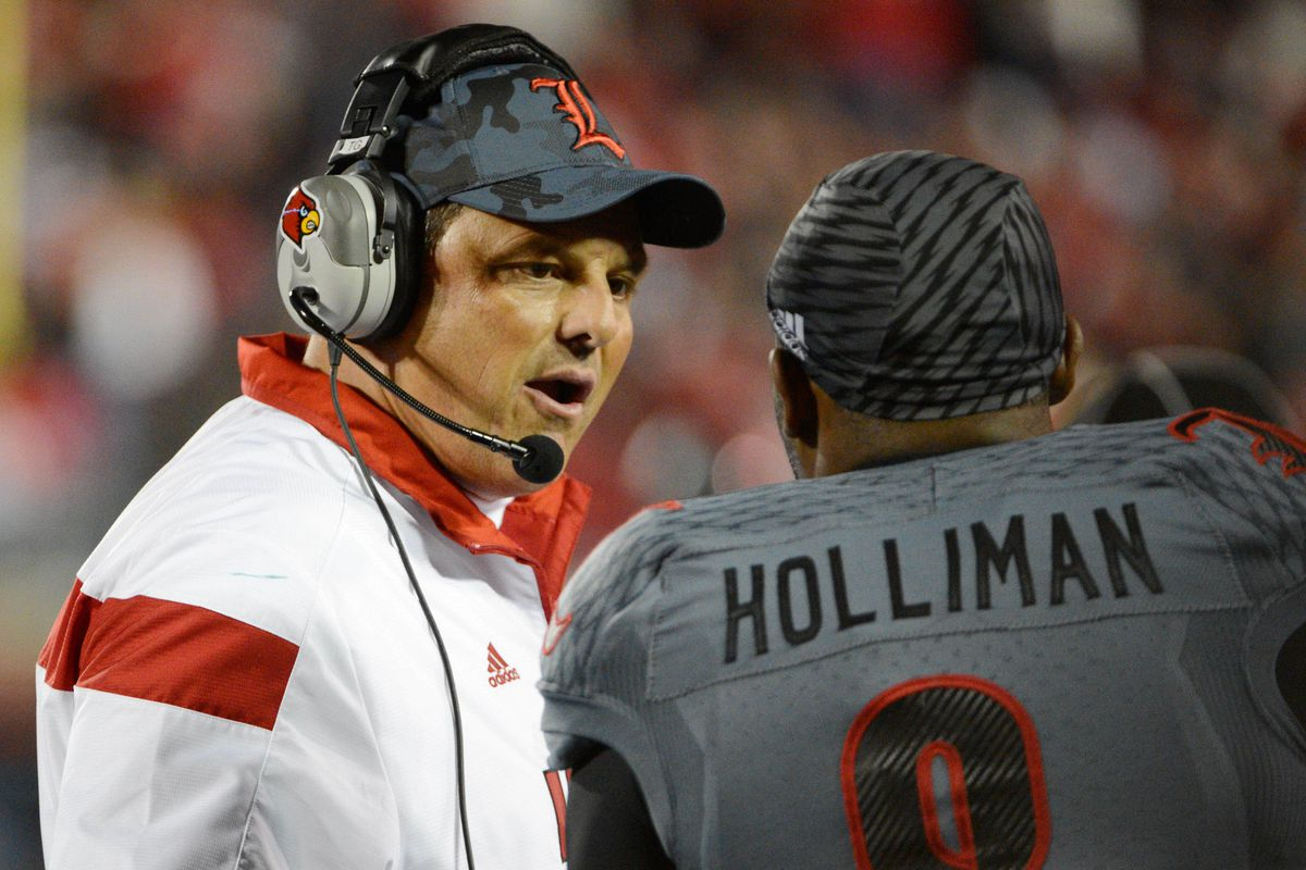 Why is Todd Grantham not smiling? Well he never smiles. But he's happy to have Drew Bailey anyway.