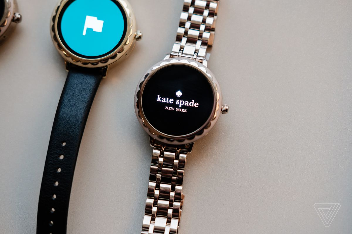 ed37e83ad44 Kate Spade is now making touchscreen smartwatches - The Verge