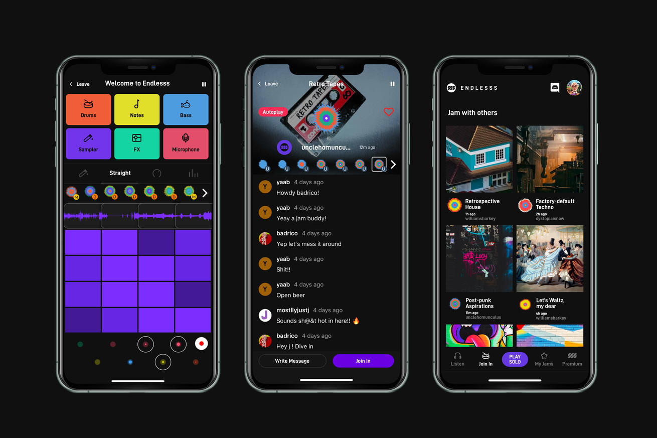 This app lets musicians remotely jam out on loops in real time