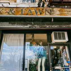 """<b>↑</b>Vintage boutique <a href=""""http://foxandfawn.blogspot.com/""""><b>Fox & Fawn</b></a> (570 Manhattan Avenue) has garnered a devoted following with its exciting Instagram shoppability, but you'll get just as big of a rush treasure-hunting at the store."""