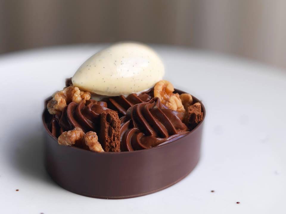 Dessert at Deuxave