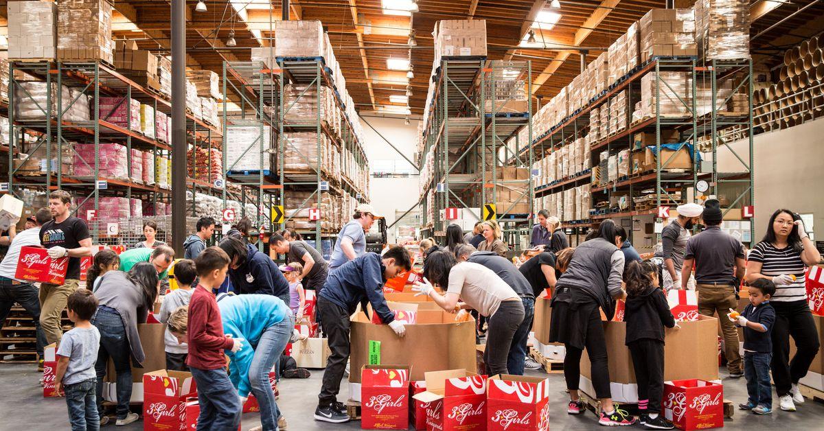 Dc Warehouse Food Bank
