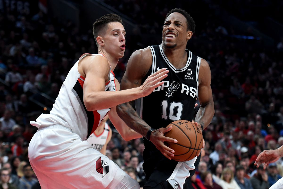 Image result for derozan spurs usa today