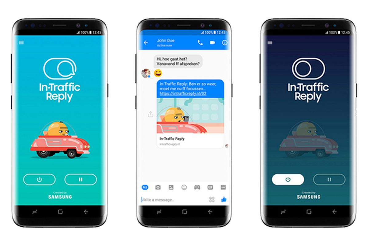 Samsung has a new auto-reply app for avoiding distracted