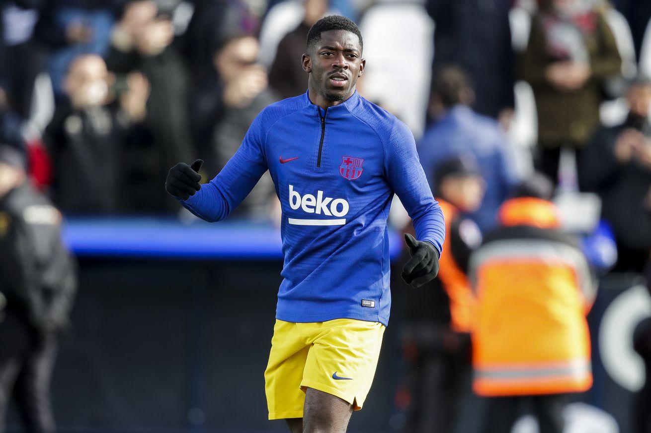 Barcelona won?t risk Dembele against Napoli - report