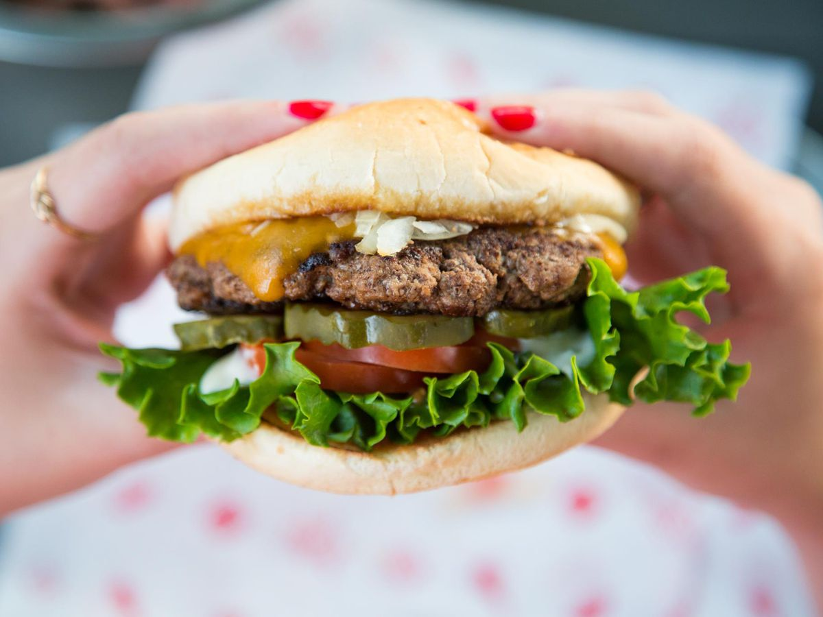 Score creatively-topped patties at The Burger Joint until 4 a.m. on the weekends
