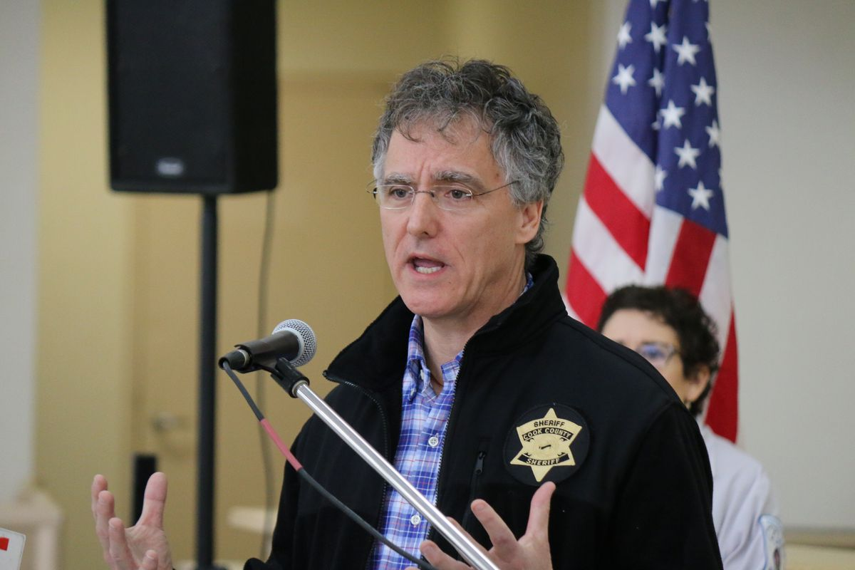 Cook County Sheriff Tom Dart.