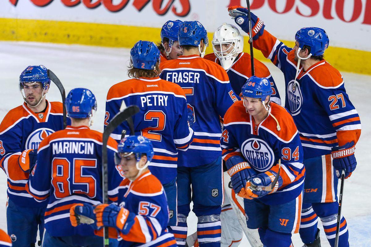 The Oilers sweep the season series against the Predators