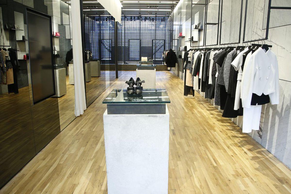 """Image via <a href=""""http://www.wwd.com/retail-news/designer-luxury/proenza-schouler-opens-in-soho-7212187?module=hp-retail"""">WWD</a>"""