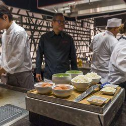 Masaharu Morimoto and his staff