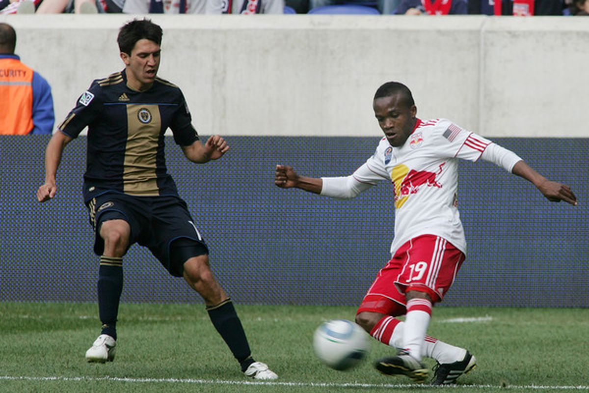 The Great Dane will have to bring his best for the Red Bulls to get one over against Filthadelphia. (Photo by Andy Marlin/Getty Images )