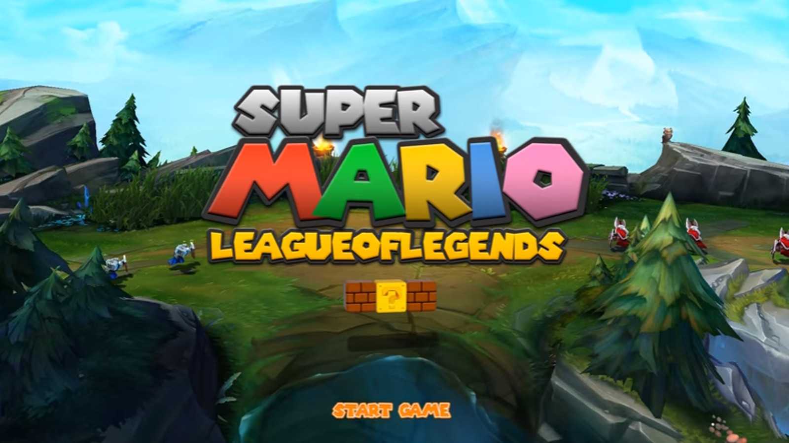 This Super Mario/ League of Legends mashup is so good
