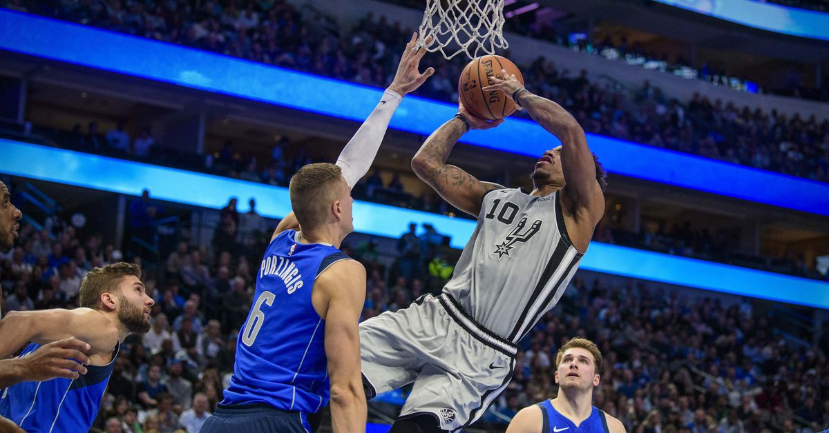 San Antonio at Dallas, Final Score: Mavericks hold off Spurs' furious comeback, 117 - 110 - Pounding The Rock