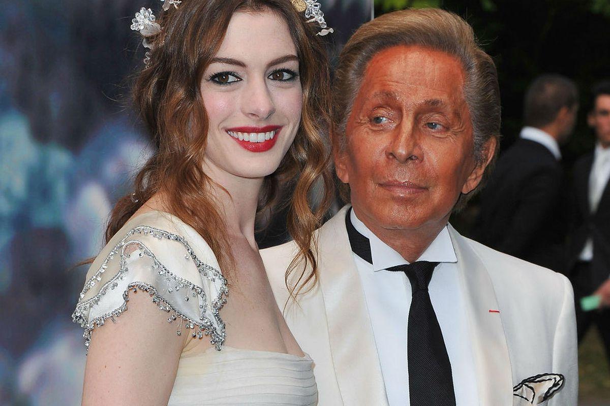 "Valentino tells E! Anne Hathaway is ""like my"