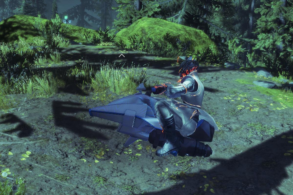Image of the Micro Mini sparrow in Destiny 2