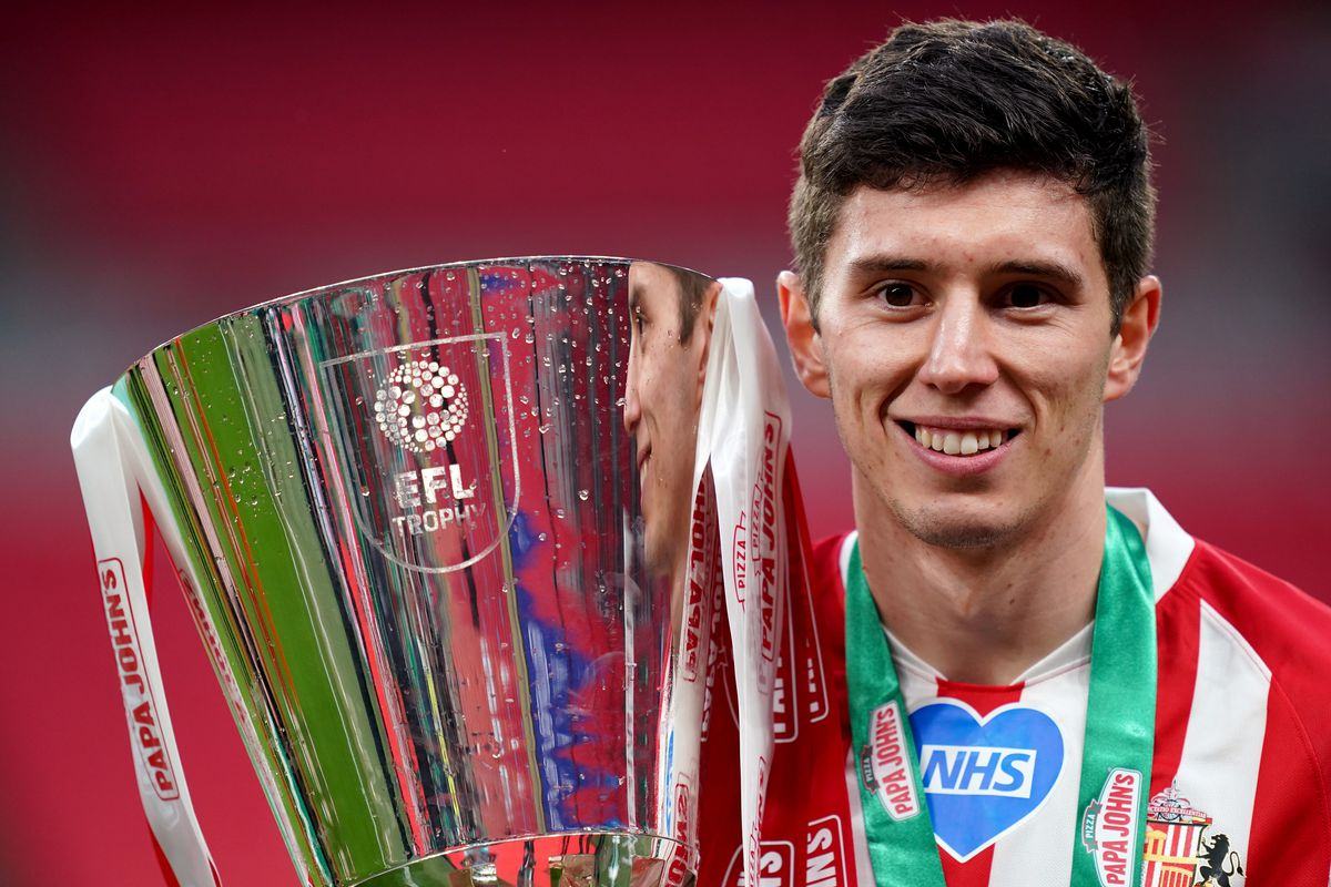 Sunderland v Tranmere Rovers - Papa John's Trophy - Final 2021 - Wembley Stadium