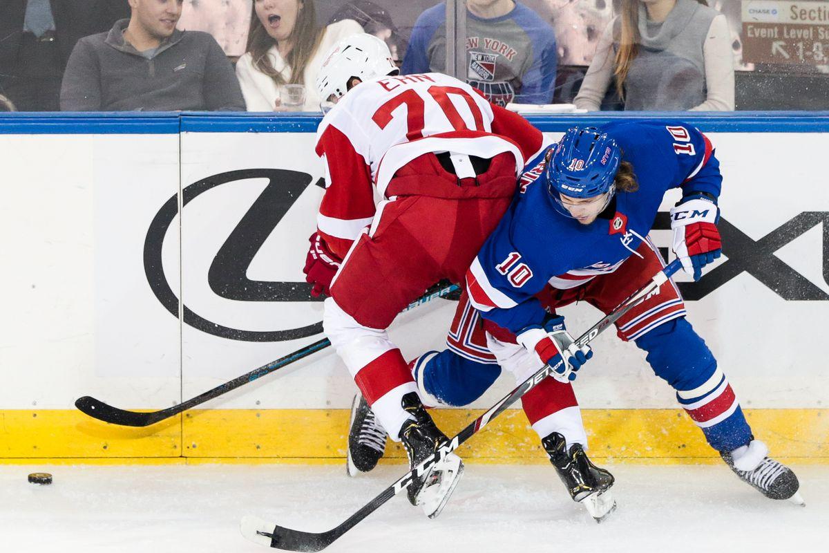 NHL: NOV 06 Red Wings at Rangers